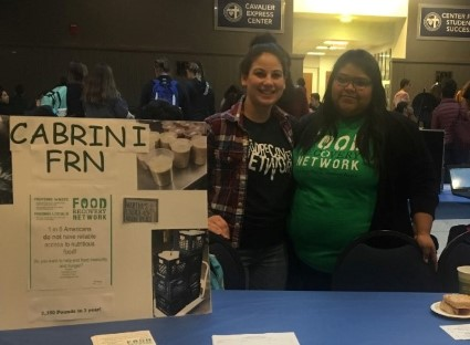 Students from Cabrini FRN at the Involvement Fair