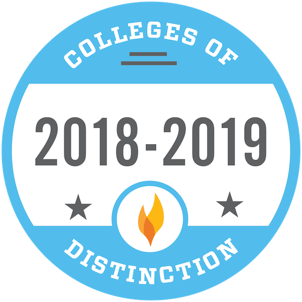 colleges of distinction badge
