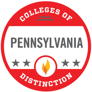 Pennsylvania College of Distinction 2019-2020 award badge