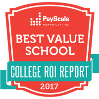 PayScale Best Value School 2017