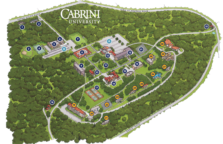 Holy Family Campus Map.Campus Map