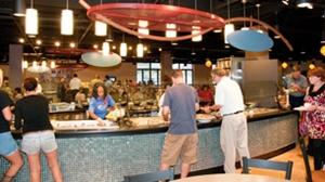Salad Bar In Cavs Corner