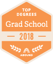 Abound Top Grad School Degrees 2018 badge