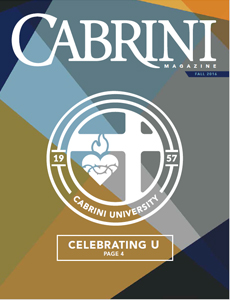 Cabrini Magazine Fall 2016 - Celebrating U