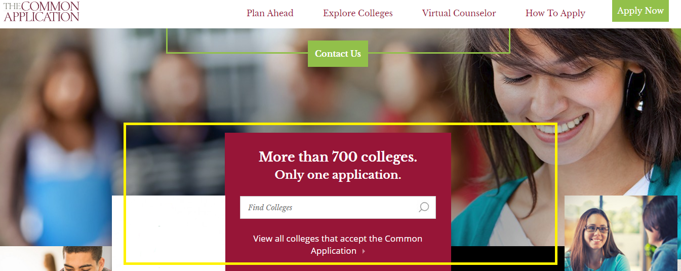 what to expect using the common app