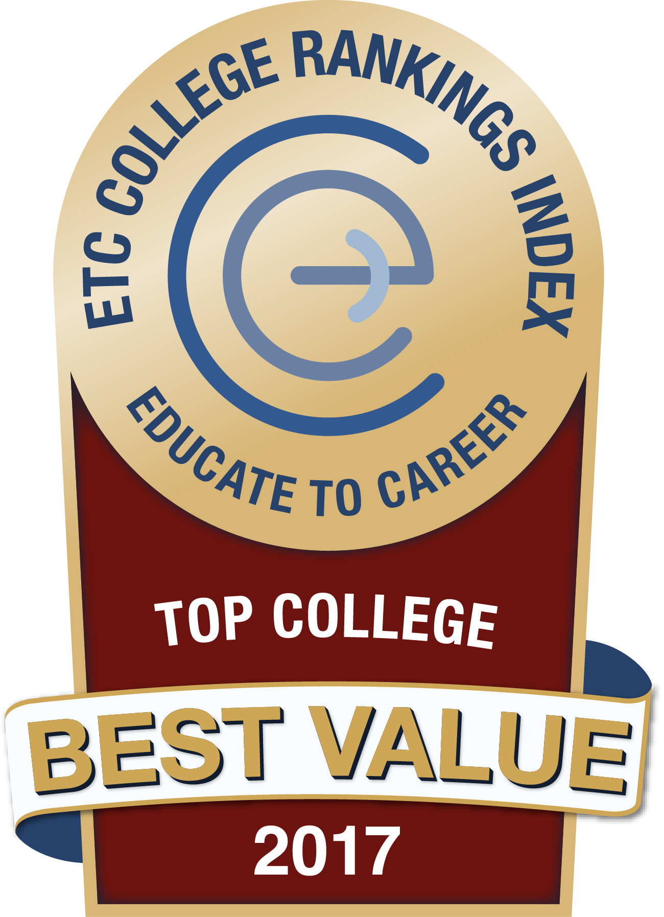 Best Value Top College 2017 - ETC Rankings