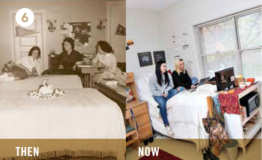 Res Halls - Then and Now