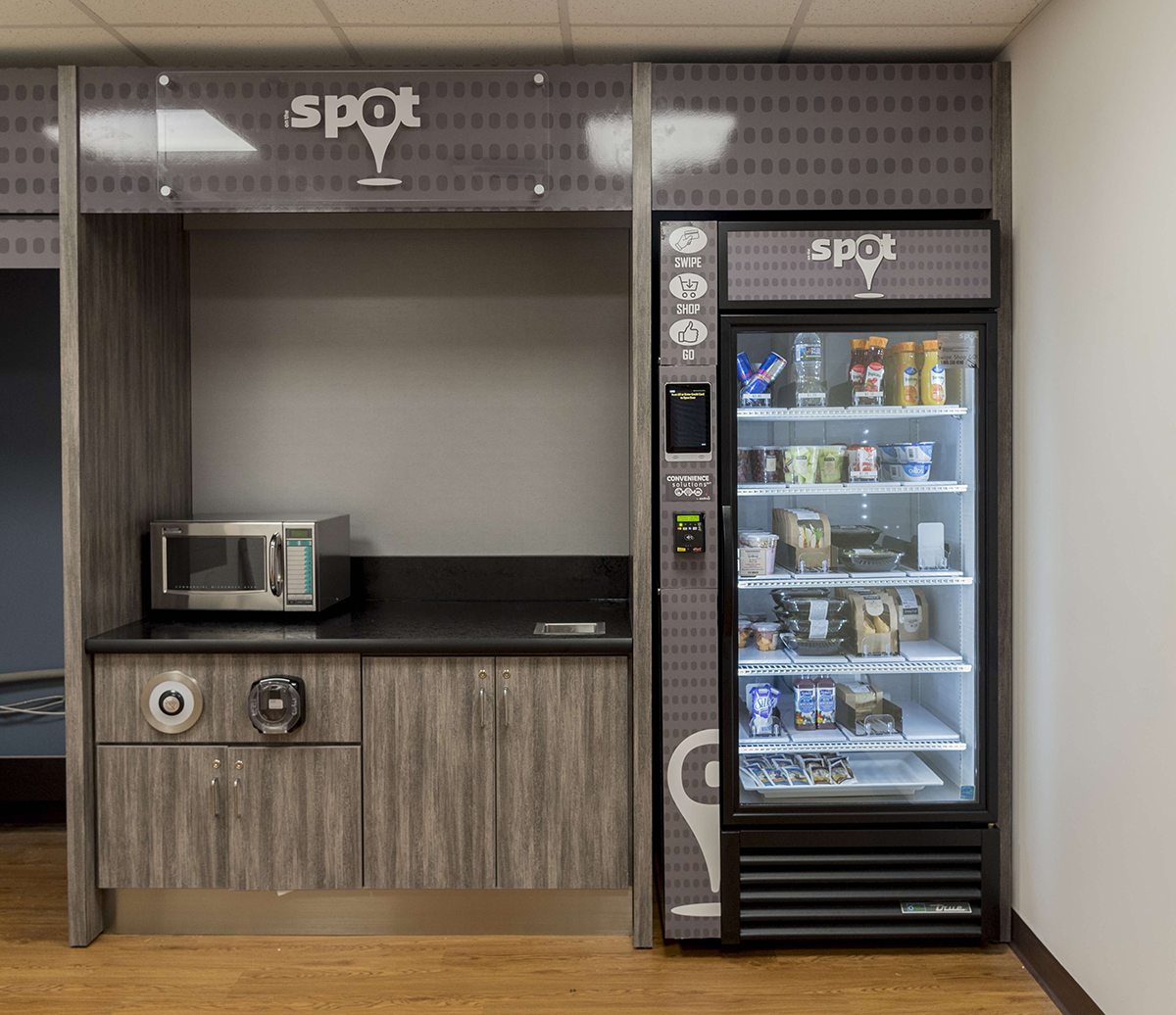 New vending machine that offers fresh food