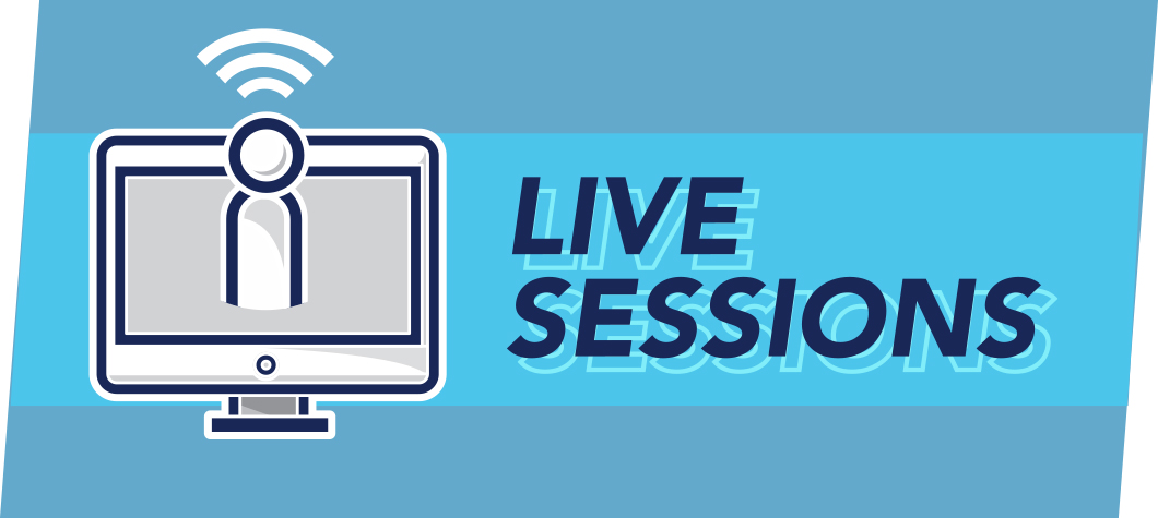 Live Sessions Button